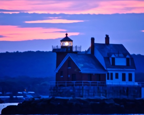 Maine Lighthouses and Beyond: Rockland Breakwater Lighthouse | Rockland and Maine coast | Scoop.it
