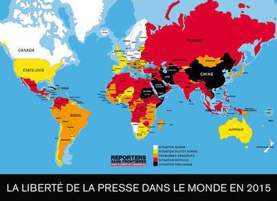 La liberté de la presse, «baromètre de l'état du monde» | DocPresseESJ | Scoop.it