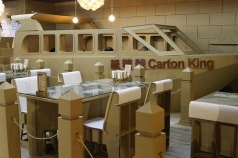 Un restaurant en carton | Le flux d'Infogreen.lu | Scoop.it