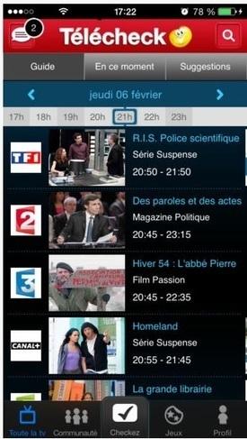 Second écran, Télé 2 Semaines lance son appli | Des Idées pour demain !  Osons les New Business Models sur tous les écrans by JODEE | Scoop.it