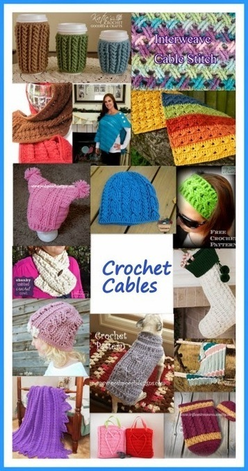 Posh Pooch Designs Dog Clothes: Crochet Cables - Tuesday Treasury of Crochet Patterns | Crochet with Meladora's Creations | Scoop.it