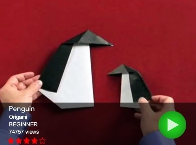 Penguin - Origami For Kids - Activity TV | How To: Origami | Scoop.it