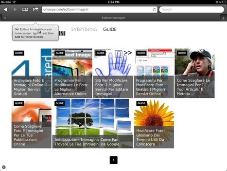 Tablet Publishing: Make Your Blog Into a Gorgeous iPad Magazine (free) | Mobile Websites vs Mobile Apps | Scoop.it
