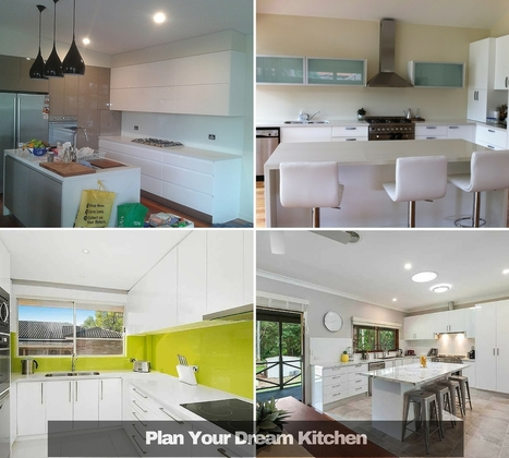 Plan Your Dream Kitchen Like A Professional | Custom Made Kitchens Renovation & Designs | Scoop.it