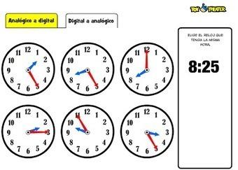 EN EL AULA DE APOYO: ¿QUÉ HORA ES? | Las TIC y la Educación | Scoop.it