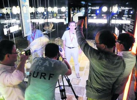 La télé chinoise tourne dans la région | L'info tourisme en Aveyron | Scoop.it