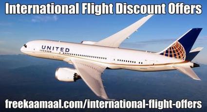 International Flight Deals- Strategies To Explore It by FreeKaaMaal Offers | Viral Videos on YouTube | Scoop.it