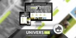 Universefolio - Themeforest Multipurpose Drupal Theme | Theme Mart | Scoop.it