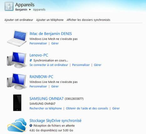 Windows Live Mesh, synchroniser vos dossiers et fichiers facilement entre vos périphériques et/ou dans le cloud | Time to Learn | Scoop.it