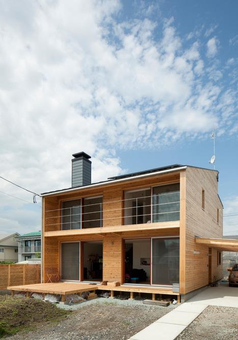 tohoku university of art & design: house-m | Rendons visibles l'architecture et les architectes | Scoop.it