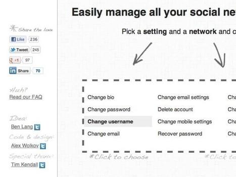 Gérer tous vos réseaux sociaux depuis un seul service avec BlissControl | Web & Bib | Scoop.it