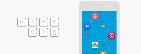 Arrange your iPhone's icons any way you want with Makeovr | Technological Sparks | Scoop.it