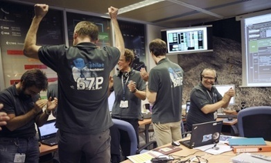 Rosetta Mission : Philae spacecraft makes historic landing on comet | Military Aviation & Technology | Scoop.it