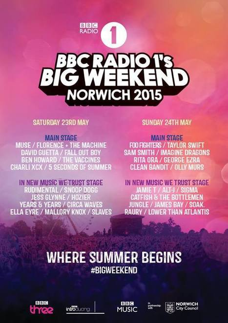 Radio 1's Big Weekend Line-Up Announcement | The Meaning of Citizen Journalism | Scoop.it