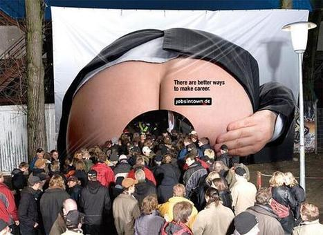 Interesting billboard advert for German Recruitement Website | Marketing news | Scoop.it