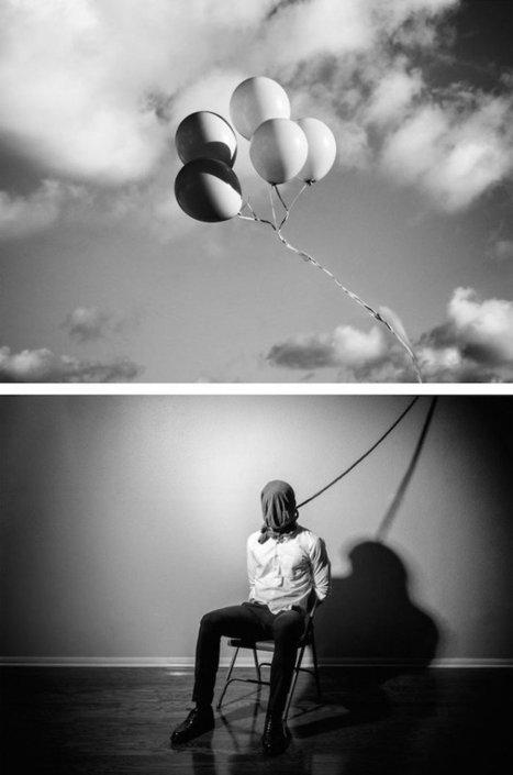 Il photographie sa dépression pour la combattre, en 16 photos sublimes. Un travail artistique qui lui a  permis de comprendre sa maladie | PhotoActu | Scoop.it