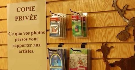 Copie privée : le coût de la taxe affiché en magasin au 1er janvier | Libertés Numériques | Scoop.it