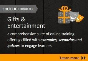Knowledge Platform releases Gifts and Entertainment E-Learning Course - Knowledge Platform's column on Newsvine | Thomson Reuters Accelus | Scoop.it
