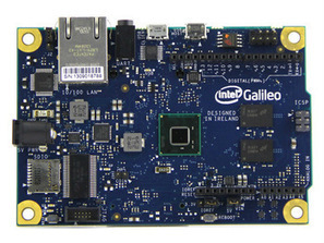 Intel Galileo Arduino compatible development board based on a 32 bit Intel Pentium class System on a Chip 800040001 | Raspberry Pi | Scoop.it