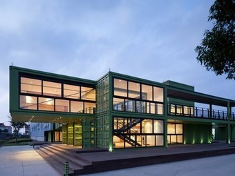Office for Organic Farm in Shanghai Is Built from Shipping Containers | Sustain Our Earth | Scoop.it