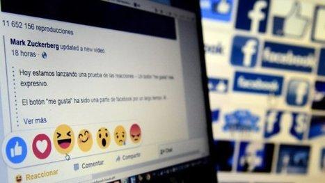 Facebook teste des nouvelles émoticônes à côté du bouton « J'aime » | Un bruit qui court... | Scoop.it