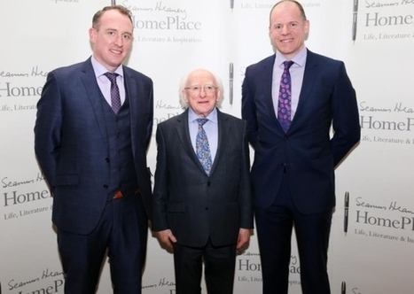 Irish President Michael D Higgins presented with plans for Seamus Heaney's HomePlace in Bellaghy | Seamus Heaney - In Memoriam | Scoop.it