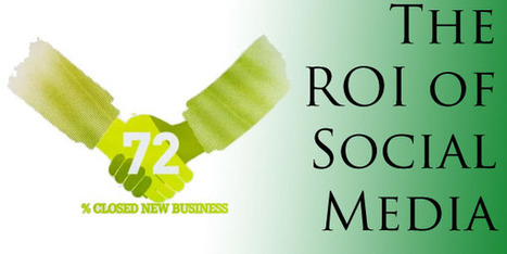 The ROI of Social Media | Digital Marketing & Social Media in Financial Services | Scoop.it