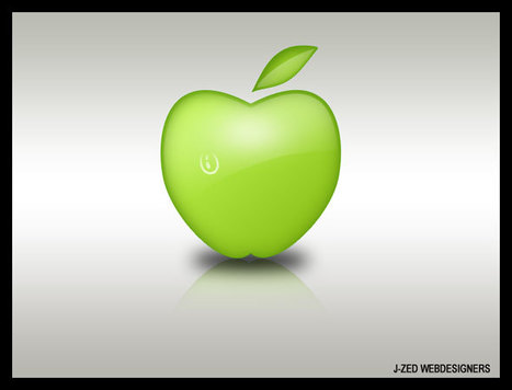Design Graphique : Dessin d'une pomme sous Photoshop | | Photoshop Design | Scoop.it