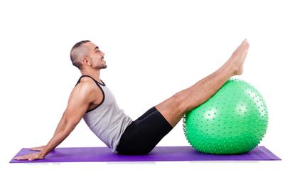 Swiss Ball Jackknife Exercise | BallExerciseWorkouts.com | Exercise Ball Workouts | Scoop.it