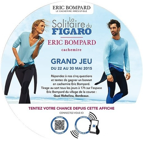 » France : Insert connecte ses MediaTables pour la Solitaire du Figaro Eric Bompard Cachemire | La Newsletter Connect | Scoop.it