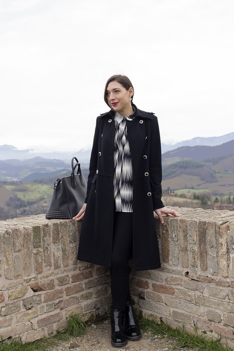 Fashion and Tourism: Black and white outfit in a beautiful day in Urbino! | Le Marche another Italy | Scoop.it