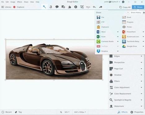 Tests logiciels de capture d'écran (screen capture) | Le Blog de PEEXEL | Trucs et bitonios hors sujet...ou presque | Scoop.it
