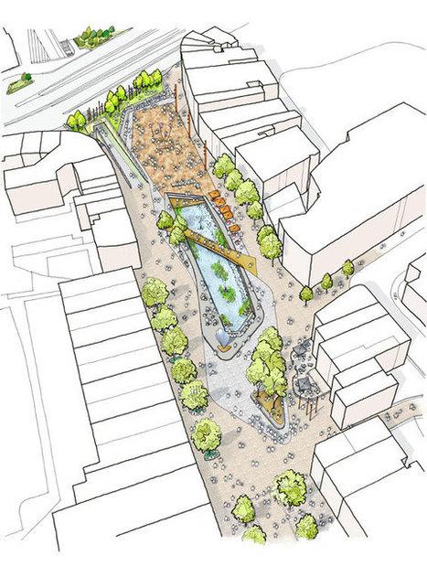 Public Realm Scheme Underway in Watford « World Landscape Architecture – landscape architecture webzine | Urban Choreography | Scoop.it