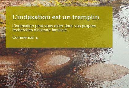 Explorez le nouveau site Internet d'indexation | Histoire Familiale | Scoop.it