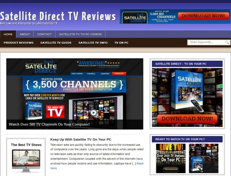 Satellite Direct Reviews by Real User | Satellite Direct TV Software for PC, Mac & Mobile | Scoop.it