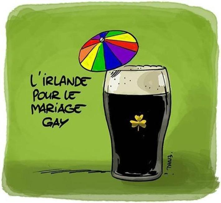L'Irlande pour le mariage gay | Baie d'humour | Scoop.it