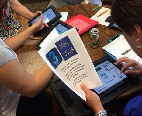 Eliterate Librarian: QR Code App Scavenger Hunt | Technology in Education Ideas | Scoop.it
