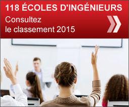 Le palmarès des écoles d'ingénieurs 2015 | Ingénieur, la Formation | Scoop.it