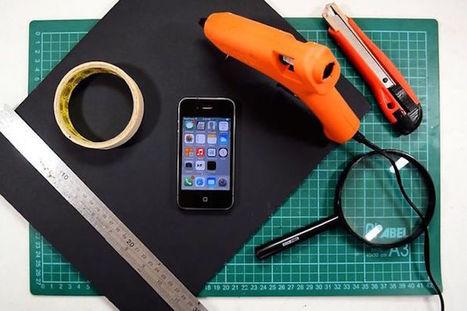Créez votre propre vidéoprojecteur pour smartphone très facilement | Cyber ferme | Scoop.it