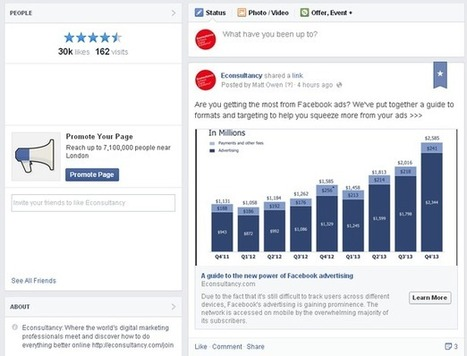 Facebook's overhauled business pages focus on content and mobile | Socially | Scoop.it