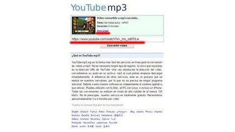 Cómo descargar un vídeo (o sólo un audio) de Youtube   INTELIGENCIA GLOBAL   Scoop.it