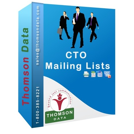 Chief Technical Officers List - CTO Database - CTO Mailing List | CVD Database | Scoop.it