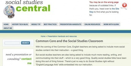 The Common Core and your social studiesclassroom | History and Social Studies Education | Scoop.it