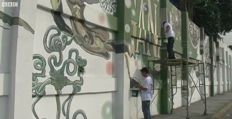 Smog-Eating Graffiti for One of World's Most Polluted Cities | 5. Extra | Scoop.it