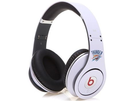 Eye-catching Monster Beats By Dr Dre Oklahoma Thunder Studio Headphones_hellobeatsdreseller.com | Beats Teams Headphones | Scoop.it