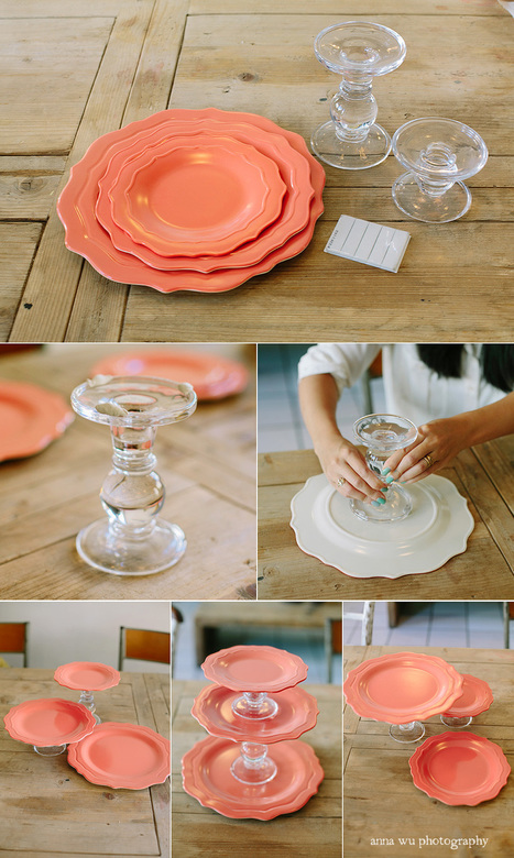 DIY Modular Cake Stand Tutorial   Party Planning   Birthday Cakes   Scoop.it