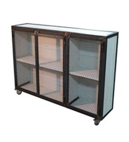Dadra | Muebles vintage estilo industrial hierro madera | Armario industrial madera y hierro | Muebles de estilo industrial de hierro | Scoop.it