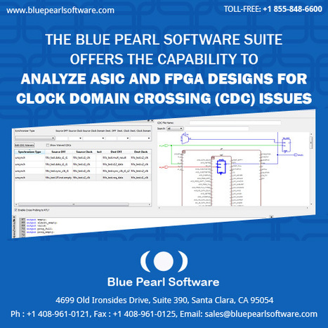 Clock Domain Crossing ( CDC ) - Blue Pearl Software Inc | Blue Pearl Software | Scoop.it