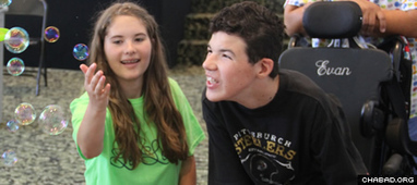 Teen Helps Special Needs Kids 'Let Loose' Over the Summer - Chabad.org | Differently Abled and Our Glorious Gadgets | Scoop.it