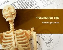 Free Skeleton PowerPoint Template   Free Powerpoint Templates   Powerful presentations   Scoop.it